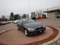 Gray 2017 BMW 3 Series 330i xDrive AWD 8-Speed