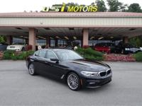 Very Nice One Owner 2017 BMW 530i 4 Door Black with Tan