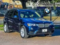 We are excited to offer this 2017 BMW X3. How to