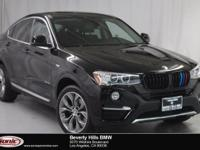This 2017 BMW X4 xDrive28i is a One Owner vehicle, Jet