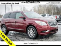 2017 Buick Enclave Leather Group Crimson Red Tintcoat