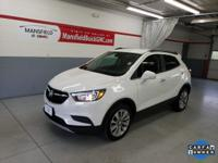 Summit White 2017 Buick Encore Preferred FWD 6-Speed