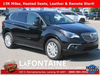 2017 Buick Envision Preferred Black FWD Clean CARFAX.