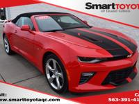 Red 2017 Chevrolet Camaro SS 1SS RWD 8-Speed Automatic