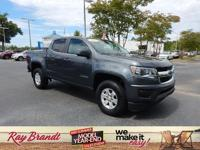 2017 Chevrolet Colorado Work Truck RWD Cyber Gray