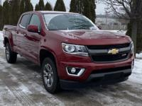 Red Tintcoat 2017 Chevrolet Colorado Z71 4WD 8-Speed