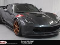 This 2017 Chevrolet Corvette Grand Sport 3LT is a One
