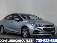 One Owner 2017 Chevy Cruze LT Sedan, Back-up camera,