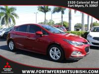 **LOADED UP CRUZE LT HATCHBACK** LOW MILES** SUN AND