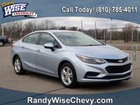 2017 Cruze LT - Bluetooth, Back-Up Camera, Comes With
