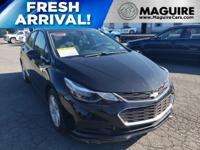 Did you know this 2017 Chevy Cruze gets amazing gas