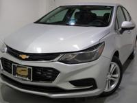 Clean CARFAX. 2017 Chevrolet Cruze LT FWD 6-Speed