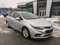 2017 Chevrolet Cruze LT Silver Ice Metallic Awards:*