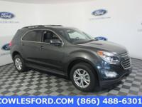 CARFAX One-Owner. Gray Metallic 2017 Chevrolet Equinox