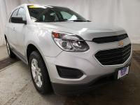 Silver 2017 Chevrolet Equinox LS FWD 6-Speed Automatic
