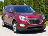 Red Tintcoat 2017 Chevrolet Equinox LT 1LT FWD 6-Speed