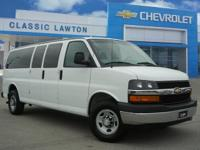CARFAX One-Owner. Summit White 2017 Chevrolet Express