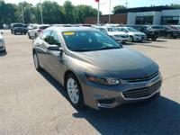 Recent Arrival! 2017 Chevrolet Malibu LT 1LT Silver Ice