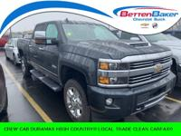 ** CREW CAB DURAMAX DIESEL** HIGH COUNTRY PACKAGE**