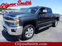 This Gray 2017 Chevrolet Silverado 2500HD LTZ might be