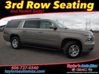 LEATHER INTERIOR, Suburban LT, 4D Sport Utility,