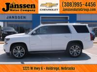Drive home today in this 2017 Chevy Tahoe. There is a