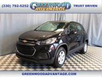 Black Metallic 2017 Chevrolet Trax LS AWD 6-Speed