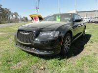 Certified. Gloss Black 2017 Chrysler 300 S AWD 8-Speed
