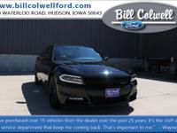 Pitch Black Clearcoat 2017 Dodge Charger R/T RWD