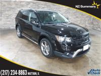 2017 Dodge Journey Pitch Black Clearcoat Accident Free