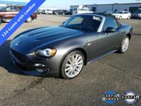 Check out this 2017 Fiat 124 Spider Lusso with Leather