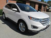 2017 FORD EDGE SEL, PANORAMIC ROOF, NAVIGATION, TWIN