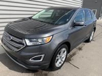 2017 Ford Edge Titanium Navigation, Back Up Camera,