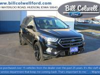 Shadow Black 2017 Ford Escape SE 4WD 6-Speed Automatic