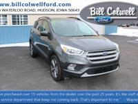 Magnetic Metallic 2017 Ford Escape SE 4WD 6-Speed
