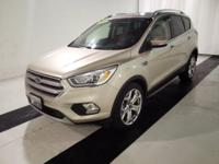 This 2017 Ford Escape Titanium 4WD is a must see!