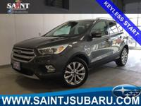 2017 Ford Escape Titanium LEATHER INTERIOR, SUN/MOON