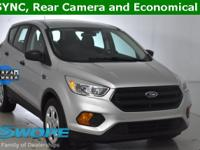 CARFAX One-Owner. Clean CARFAX. This 2017 Ford Escape S