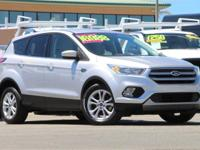 CARFAX One-Owner. Clean CARFAX. Silver 2017 Ford Escape
