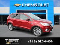 CARFAX One-Owner. Clean CARFAX.2017 Ford Escape