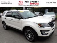 2017 Ford Explorer Sport CARFAX One-Owner. Clean