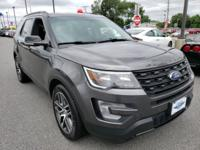 New Price! Magnetic 2017 Ford Explorer Sport AWD