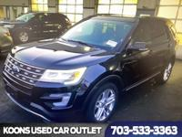 One Owner 2017 Ford Explorer XLT All Wheel Drive, Off