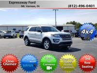 This extensive 2017 Ford Explorer XLT, with its grippy