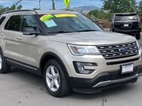 CARFAX One-Owner. Clean CARFAX. Gold 2017 Ford Explorer