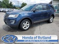 Blue Jeans Metallic 2017 Ford Explorer XLT AWD 6-Speed