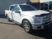 2017 Ford F-150 Lariat White Platinum Metallic Tri-Coat