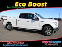 ACCIDENT FREE, LEATHER INTERIOR, F-150 Lariat, 4D