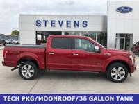 2017 Ford F-150 Platinum 4WD 10-Speed Automatic