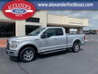 2017 Ford F150 SuperCab 2WD XLT. +++ Carfax One Owner